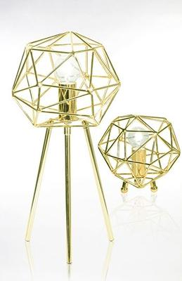 Diamant bordlampe - Messing